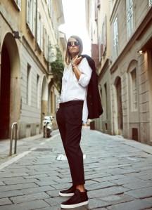 Outfit Inspiration- Carlotta Oddi for ZARA